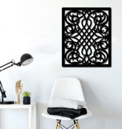 Abstract Pattern wall decoration room3