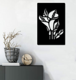 Arum Lily wall decoration room6