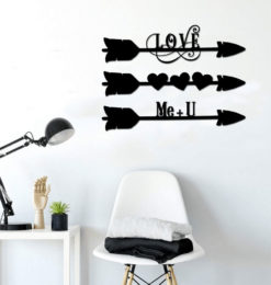love arrows set of 3 room3